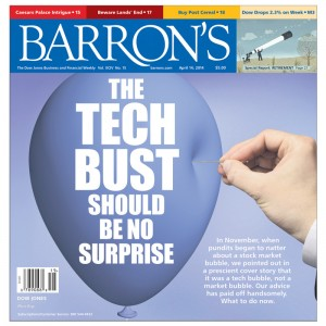 Barrons bubble