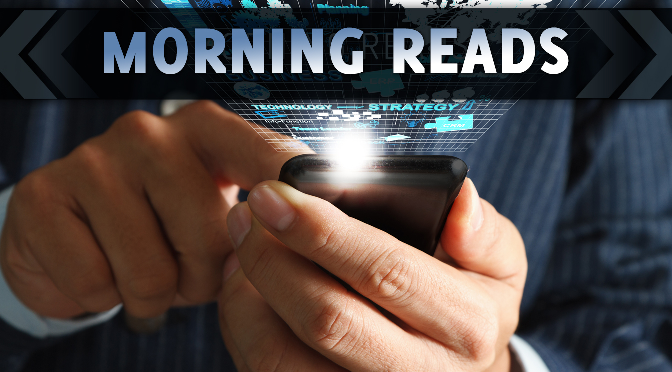 Monday Morning Reads – 9/15/14