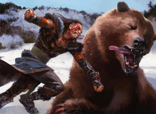 punching-a-bear