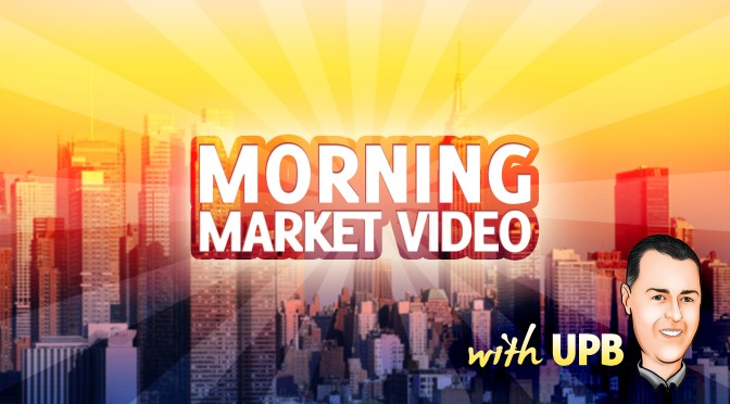 Tuesday Morning Market Minute Video – $BIDU $SPY $TLT $TWTR $GS $GLD