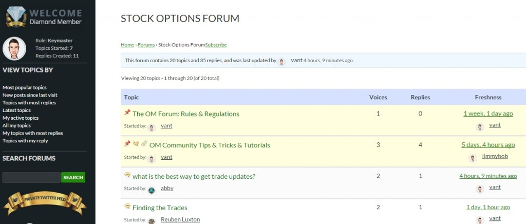 OM Forum