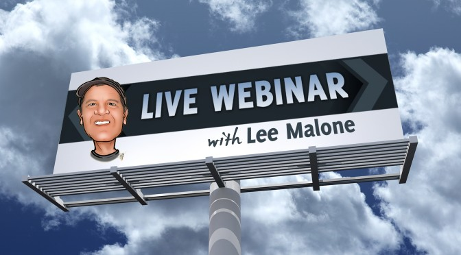 Webinar : Keeping Costs Low During Times of High Volatility w/ LeeMalone