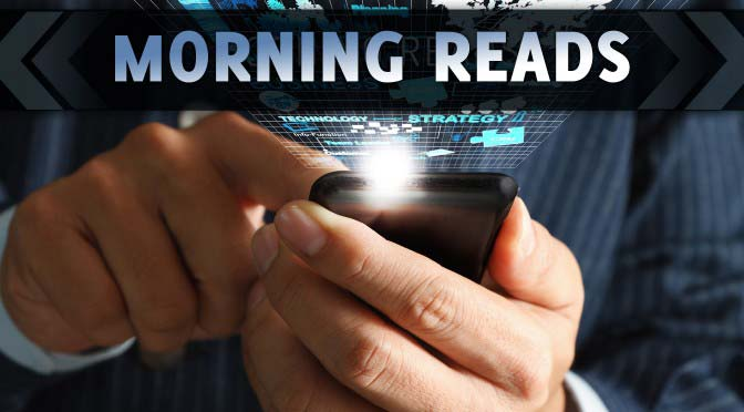Wednesday Morning Reads and More